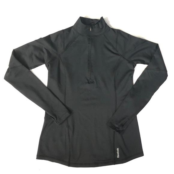 Reebok Tops - Reebok 1 4 Zip Running Top Pullover Jacket Womens 24b01e19f2cd3